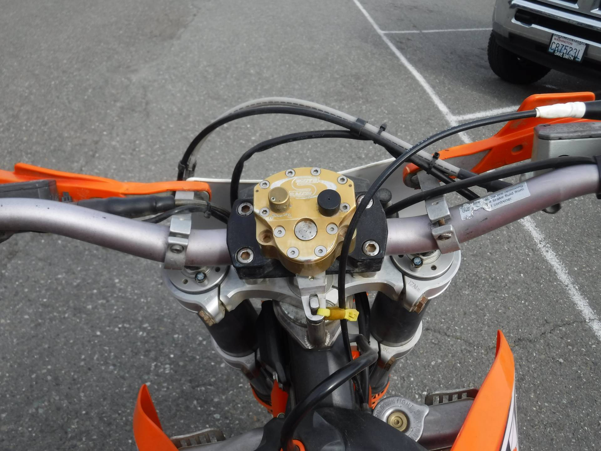2008 KTM 300 XC-W (e) in Port Angeles, Washington - Photo 4