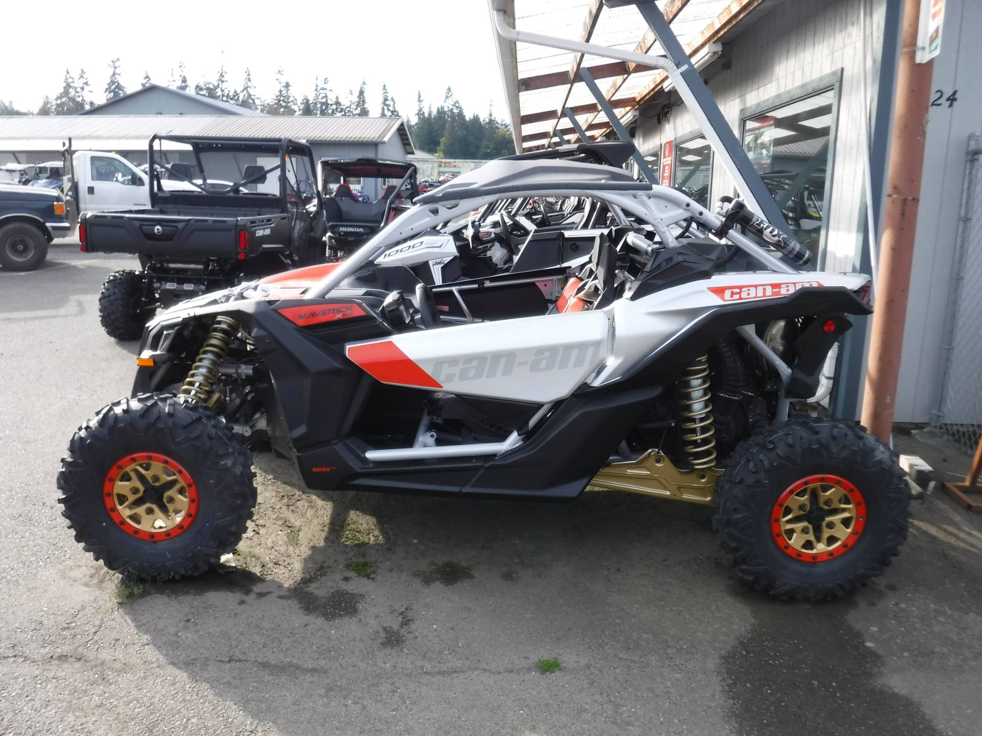 2019 Can-Am Maverick X3 X rs Turbo R in Port Angeles, Washington - Photo 2