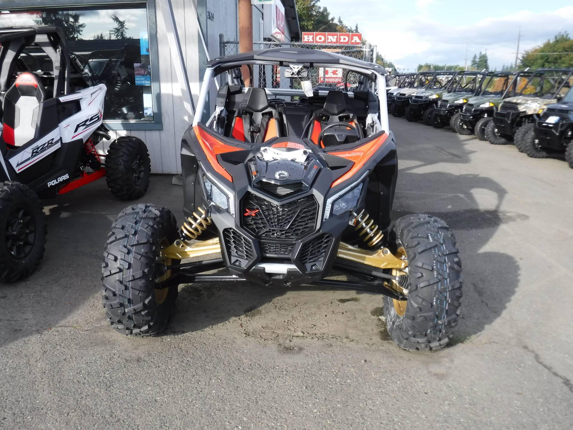 2019 Can-Am Maverick X3 X rs Turbo R in Port Angeles, Washington - Photo 4