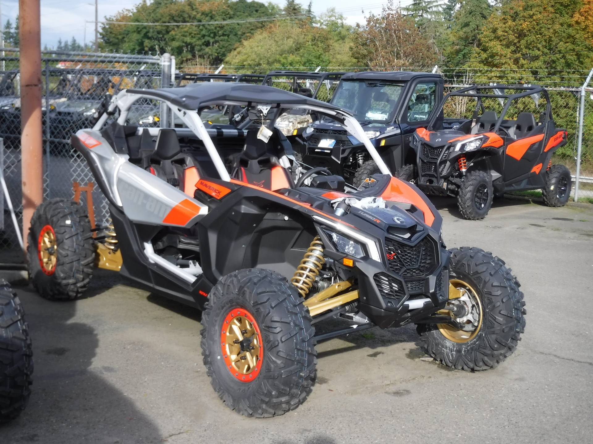 2019 Can-Am Maverick X3 X rs Turbo R in Port Angeles, Washington - Photo 5