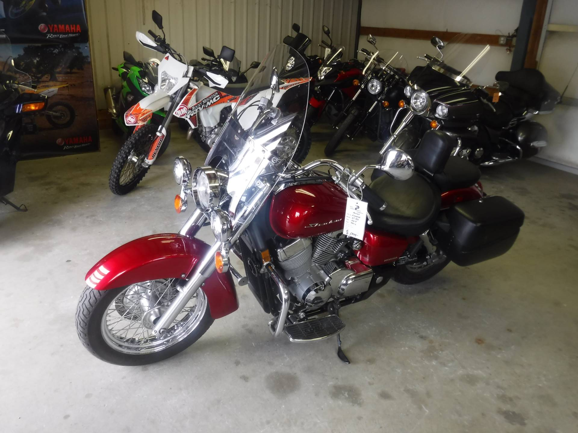 2015 Honda Shadow Aero® in Port Angeles, Washington - Photo 4