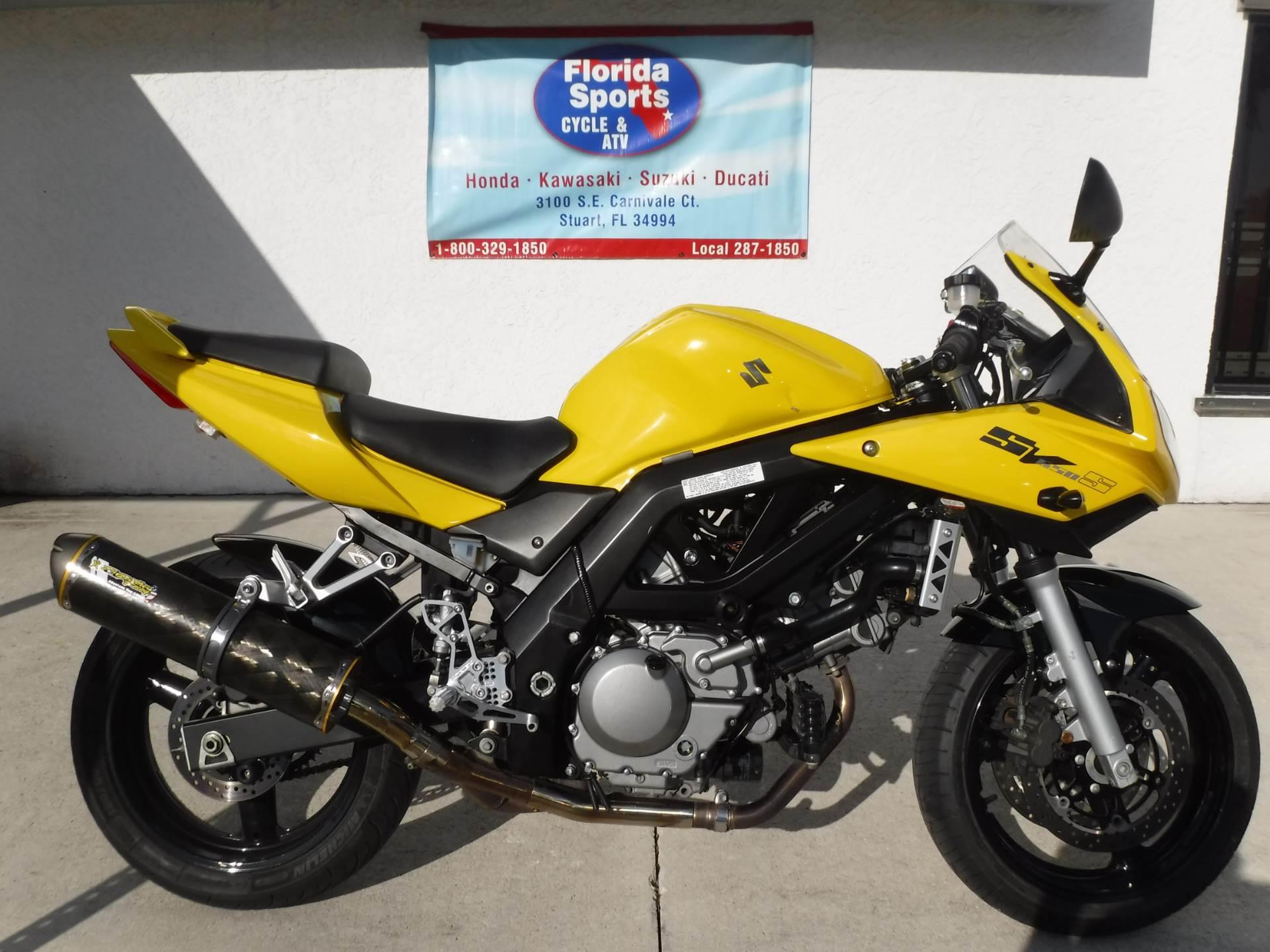 2005 Suzuki SV650S for sale 108446