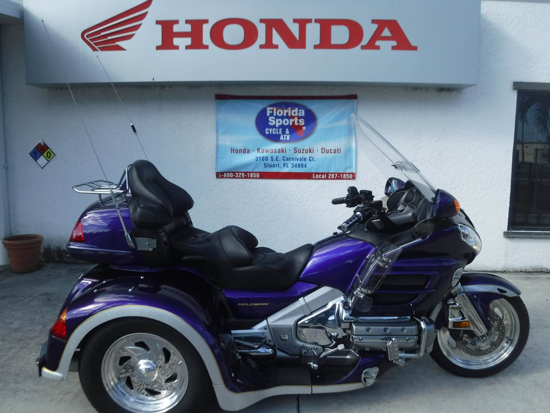 2002 Honda GL1800 in Stuart, Florida - Photo 1
