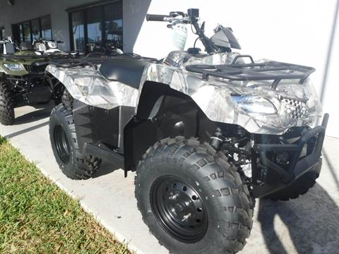 2019 Suzuki KingQuad 400FSi Camo in Stuart, Florida - Photo 2