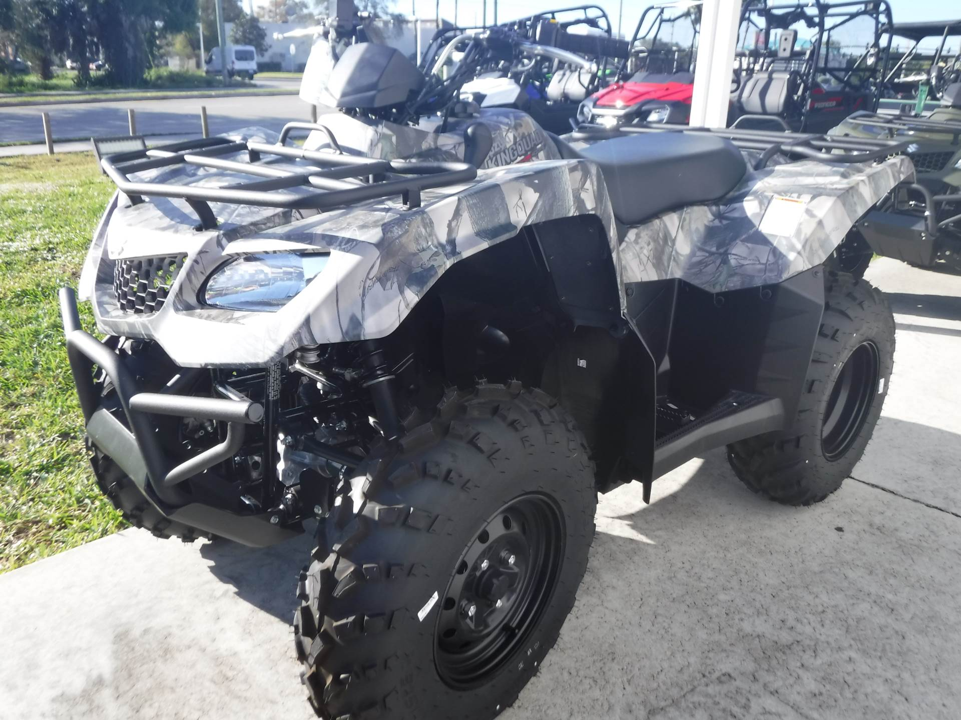 2019 Suzuki KingQuad 400FSi Camo in Stuart, Florida - Photo 4
