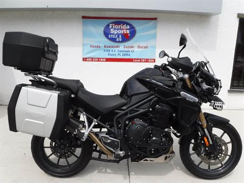 2012 Triumph Tiger Explorer ABS in Stuart, Florida