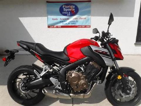 2018 Honda CB650F ABS in Stuart, Florida