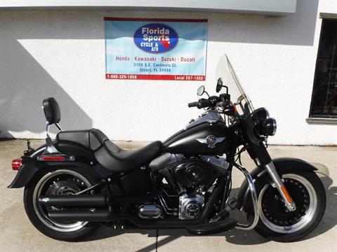 2014 Harley-Davidson Fat Boy® Lo in Stuart, Florida