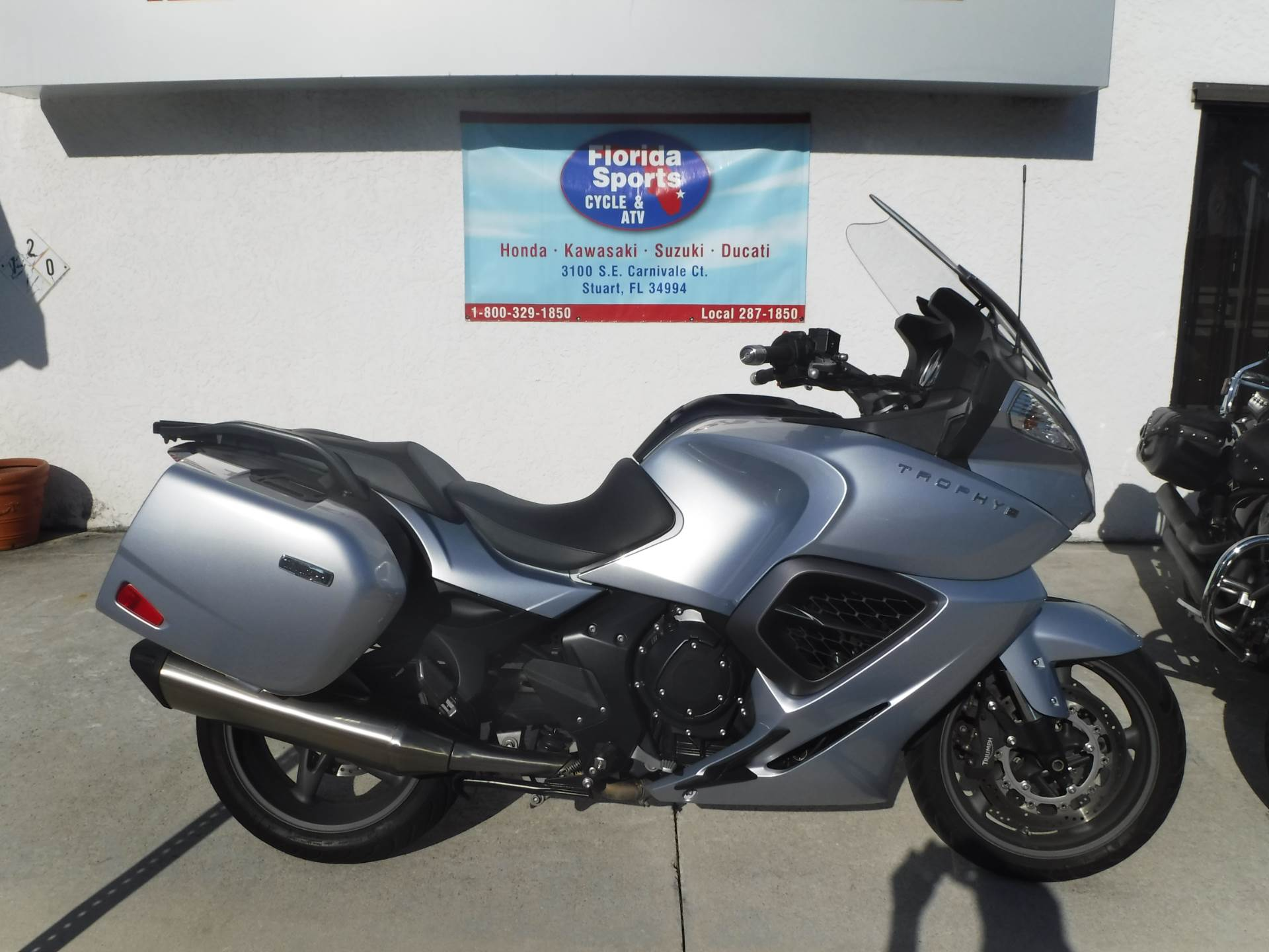 2013 Triumph Trophy SE in Stuart, Florida