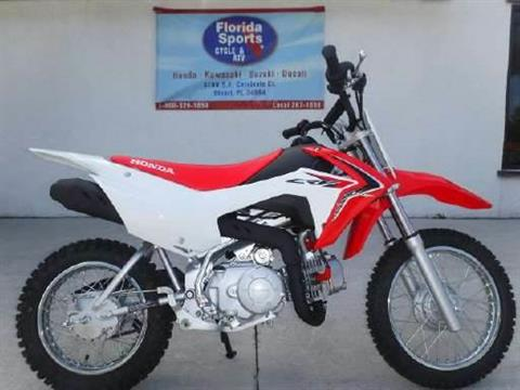 2018 Honda CRF110F in Stuart, Florida