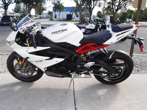 2015 Triumph Daytona 675R ABS in Stuart, Florida