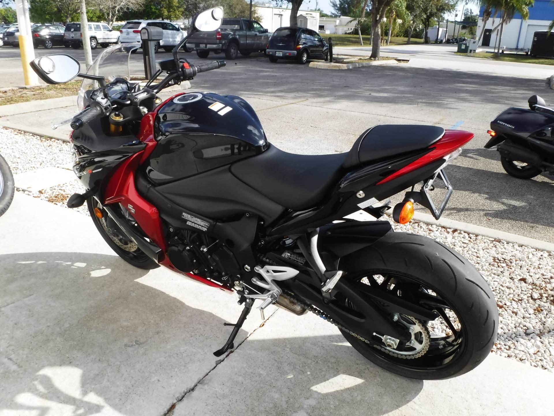 2016 Suzuki GSX-S1000F ABS in Stuart, Florida