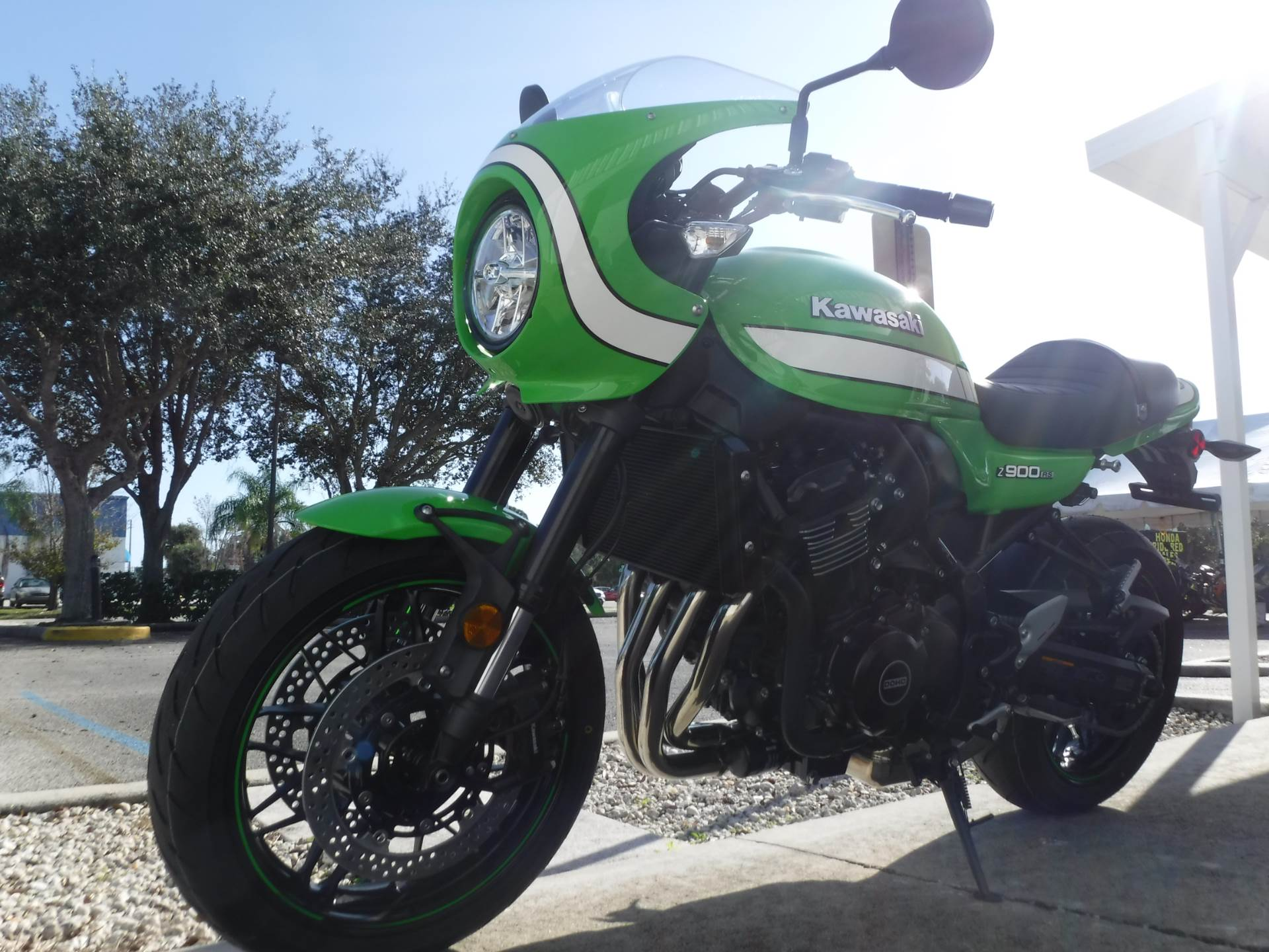 2019 Kawasaki Z900RS Cafe in Stuart, Florida - Photo 4