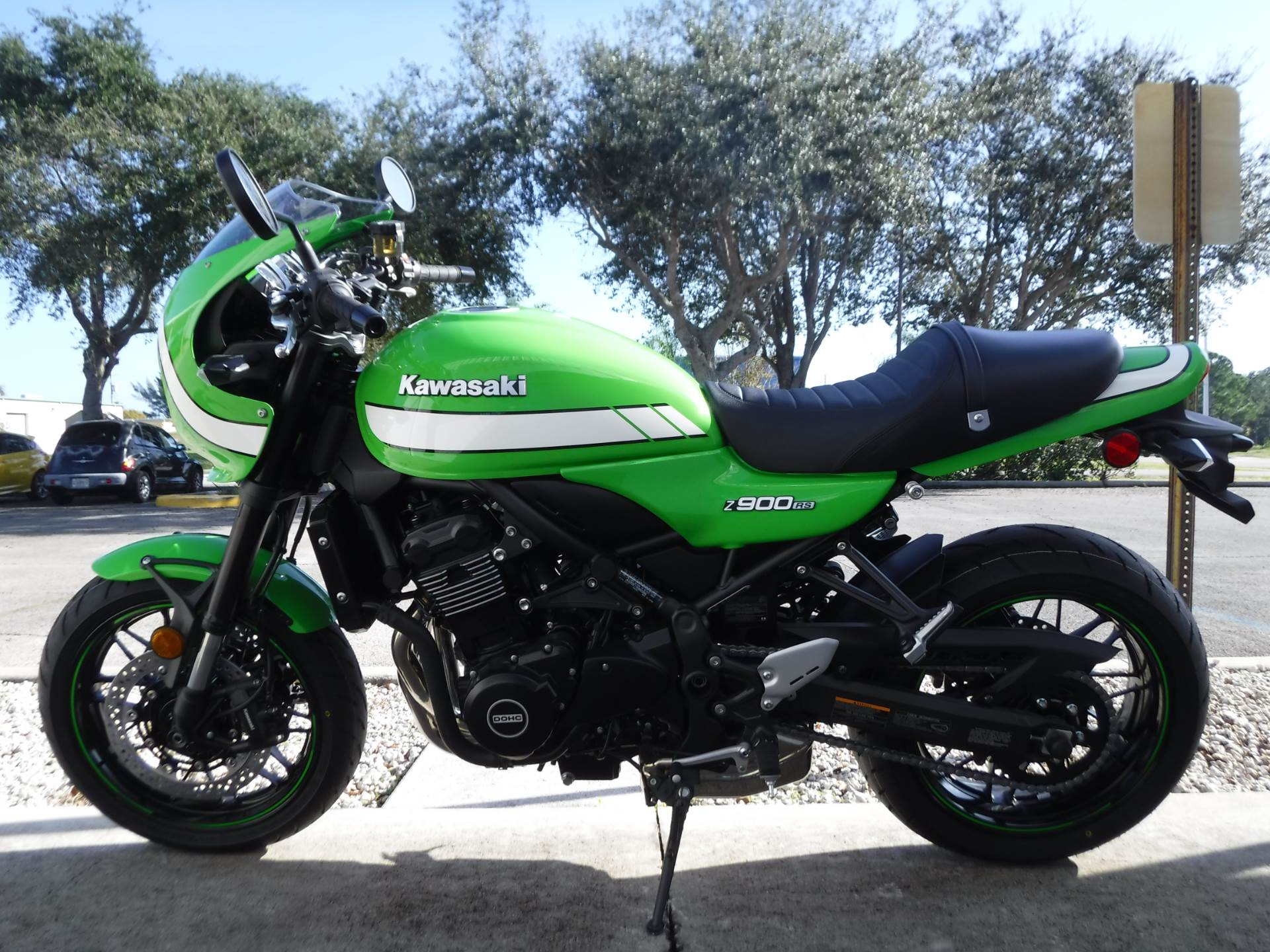 2019 Kawasaki Z900RS Cafe in Stuart, Florida - Photo 5
