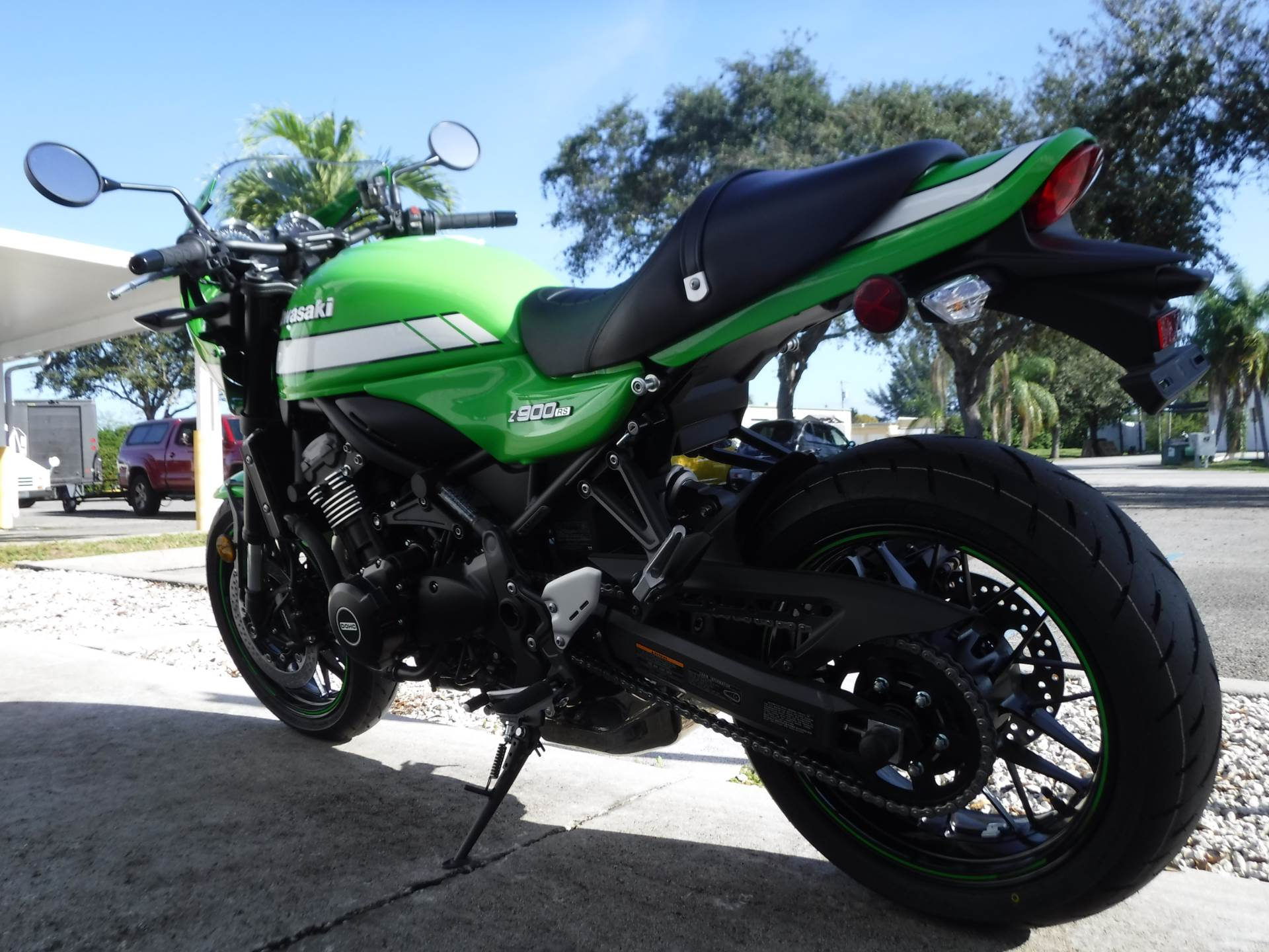 2019 Kawasaki Z900RS Cafe in Stuart, Florida - Photo 6