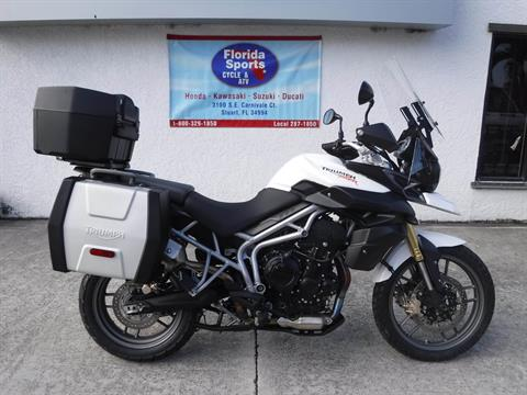 2011 Triumph Tiger 800 in Stuart, Florida