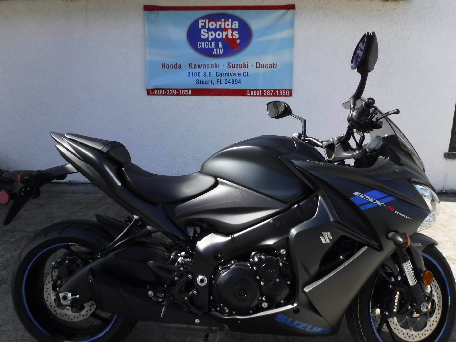 2019 Suzuki GSX-S1000FZ in Stuart, Florida - Photo 1