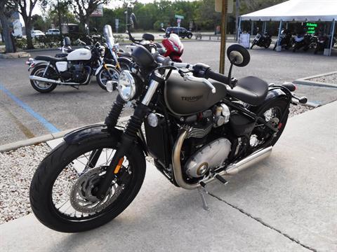 2017 Triumph Bonneville Bobber in Stuart, Florida
