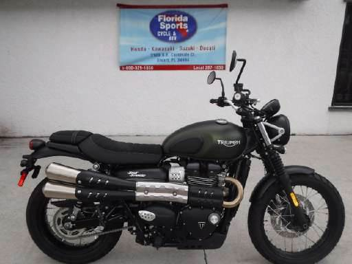 2018 Triumph Street Scrambler in Stuart, Florida - Photo 1