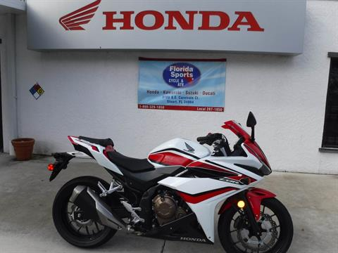 2018 Honda CBR500R ABS in Stuart, Florida