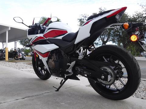 2018 Honda CBR500R ABS in Stuart, Florida - Photo 6