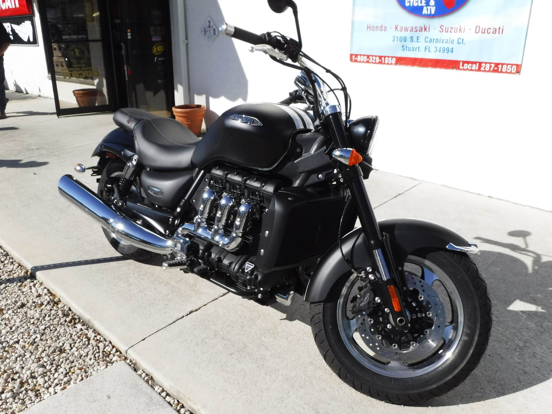 2016 Triumph Rocket III Roadster ABS in Stuart, Florida