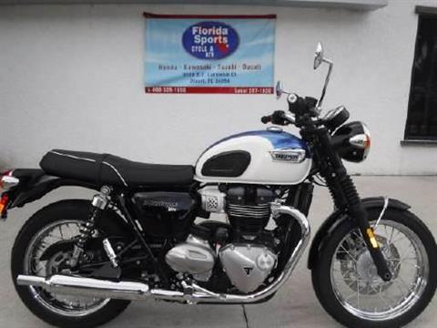 2018 Triumph Bonneville T100 in Stuart, Florida - Photo 1