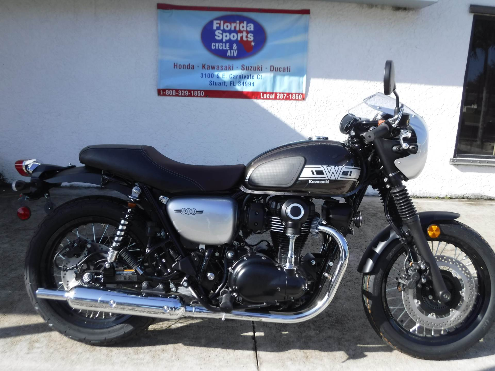 2019 Kawasaki W800 Cafe in Stuart, Florida - Photo 1
