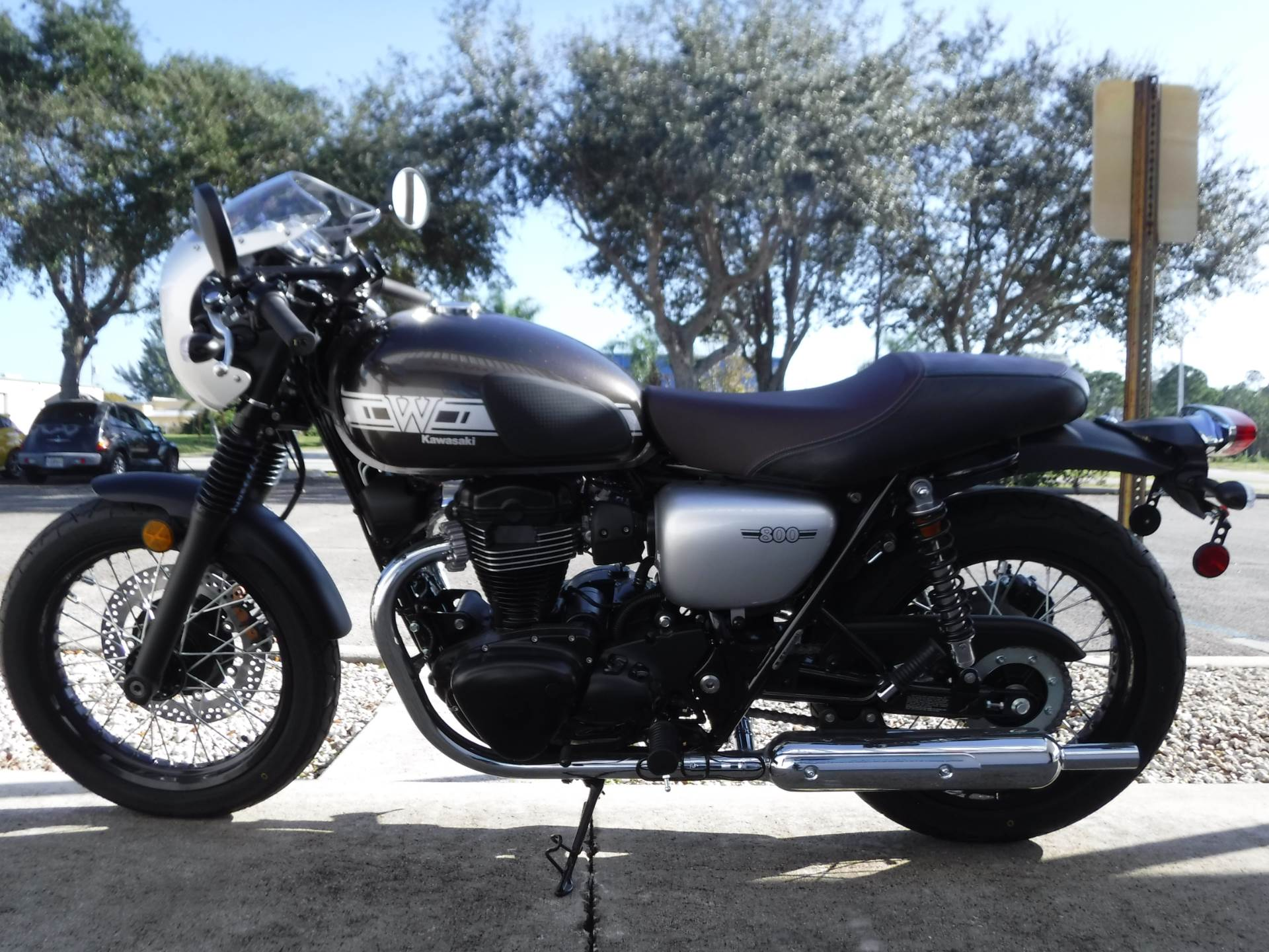 2019 Kawasaki W800 Cafe in Stuart, Florida - Photo 5