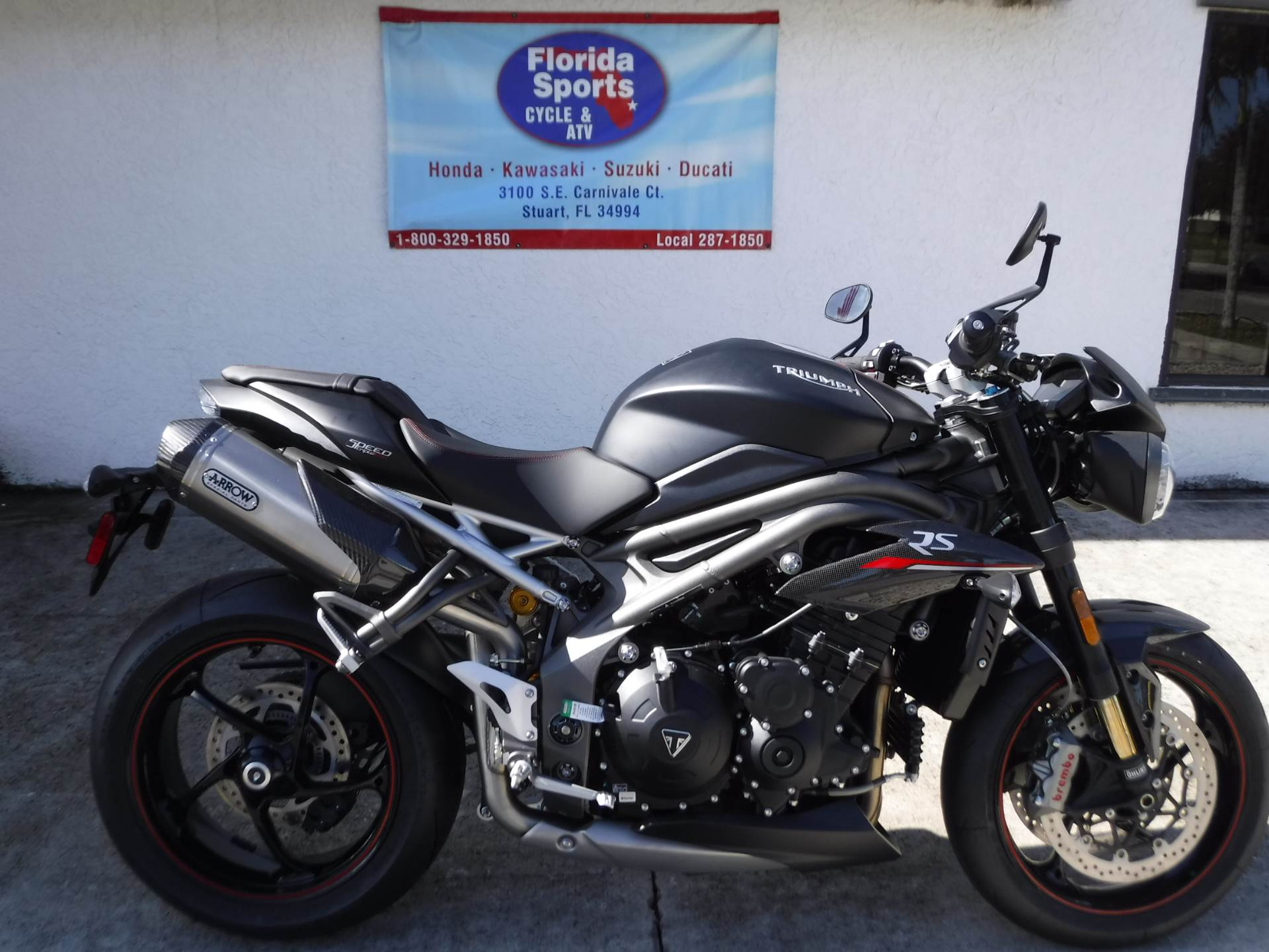 2019 Triumph Speed Triple RS in Stuart, Florida - Photo 1