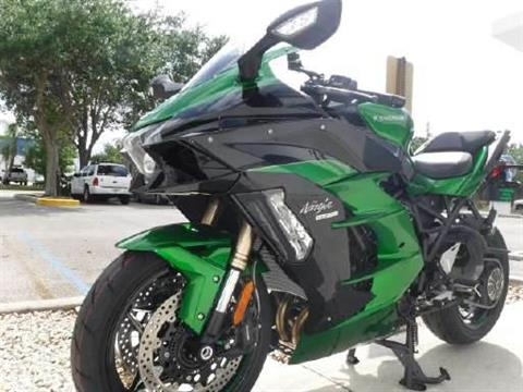 2018 Kawasaki Ninja H2 SX SE in Stuart, Florida - Photo 5