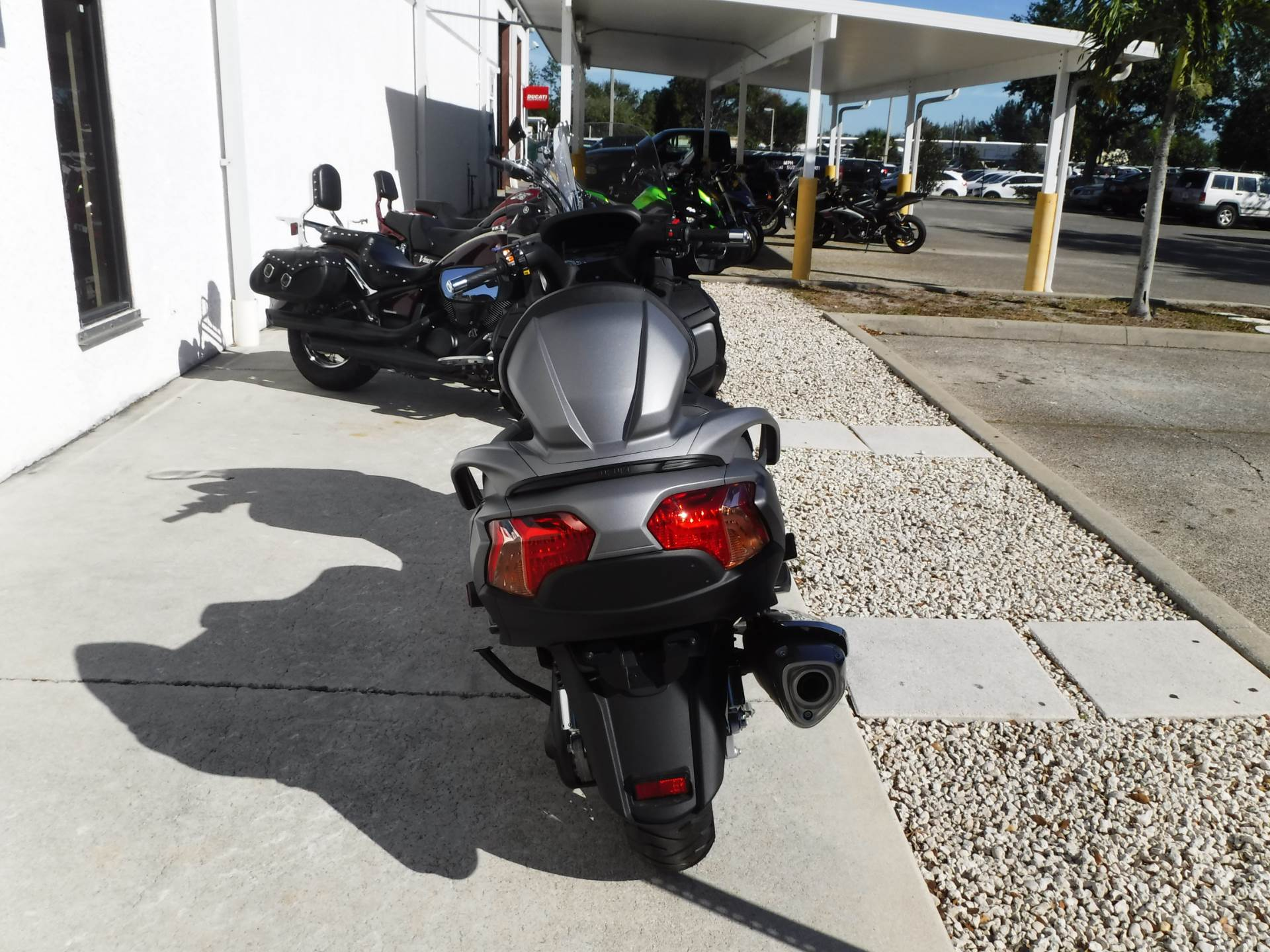 2015 Suzuki Burgman 650 ABS in Stuart, Florida