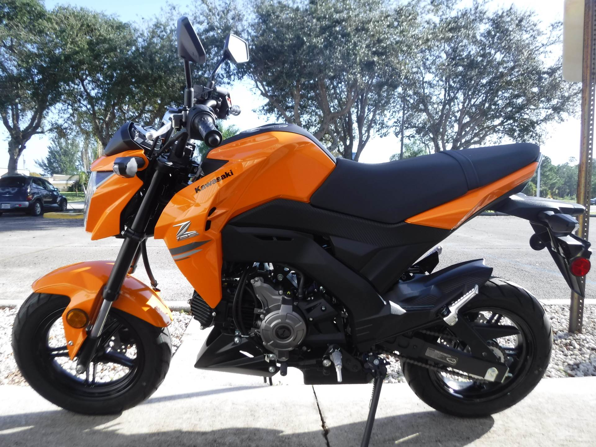 2019 Kawasaki Z125 Pro in Stuart, Florida - Photo 6