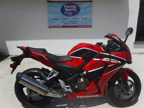 2017 Honda CBR300R ABS in Stuart, Florida