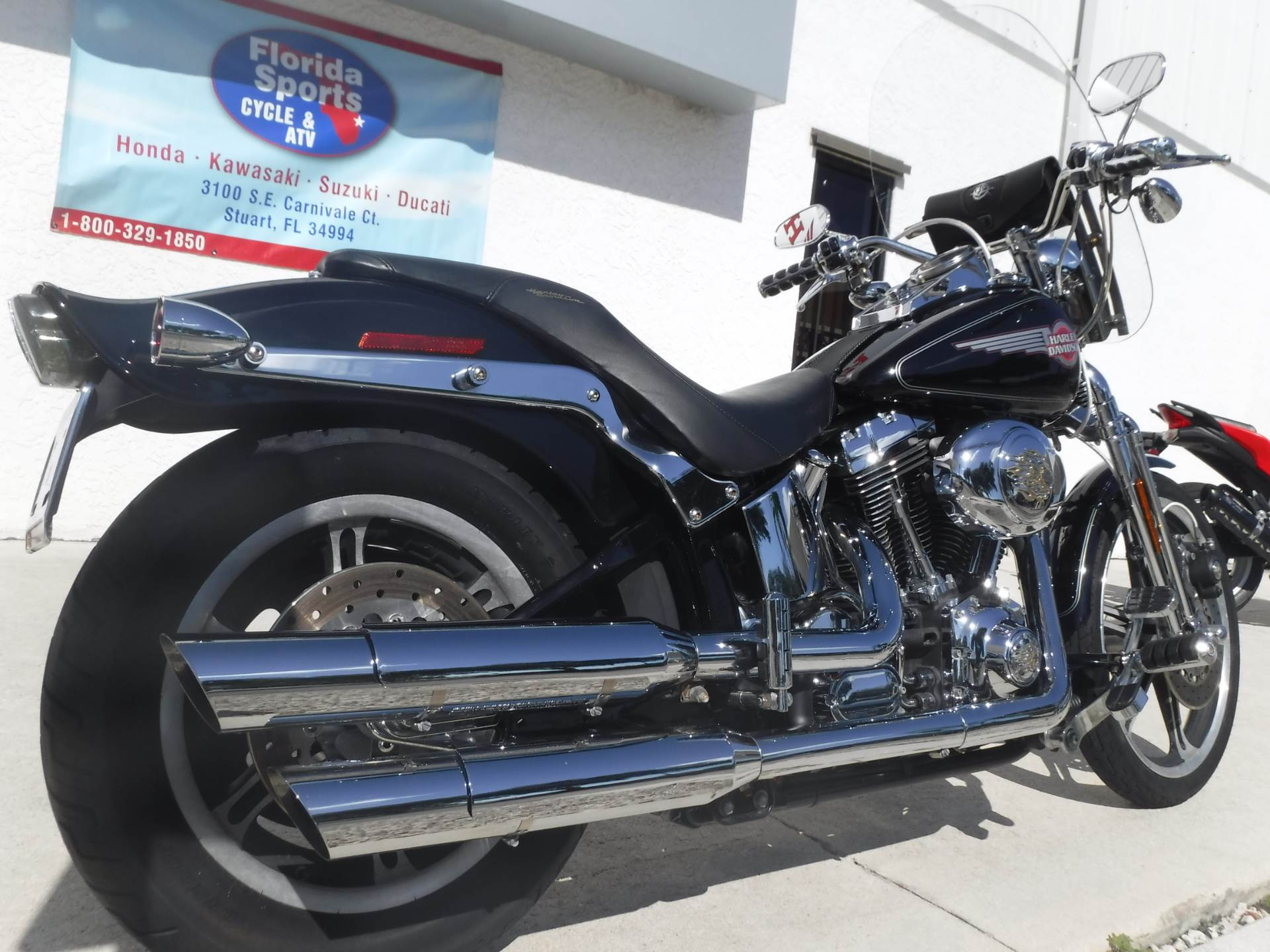 2005 Harley-Davidson FXSTS/FXSTSI Springer® Softail® in Stuart, Florida - Photo 8