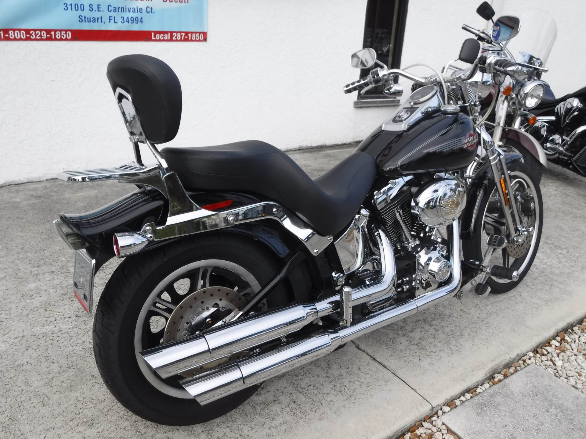 2005 Harley-Davidson FXSTS/FXSTSI Springer® Softail® in Stuart, Florida - Photo 16