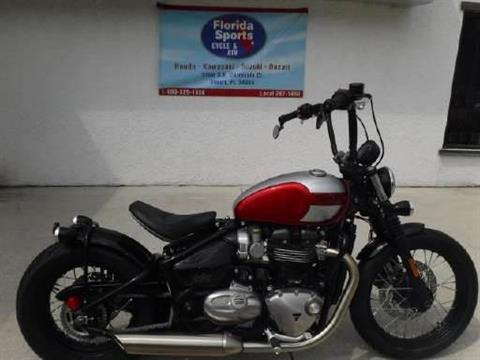 2018 Triumph Bonneville Bobber in Stuart, Florida - Photo 1