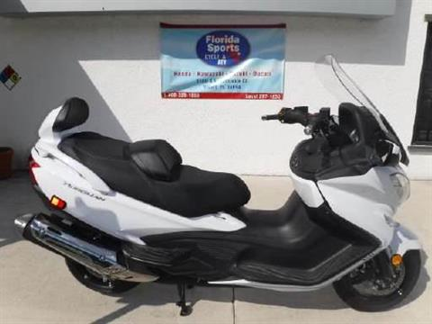 2018 Suzuki Burgman 650 Executive in Stuart, Florida