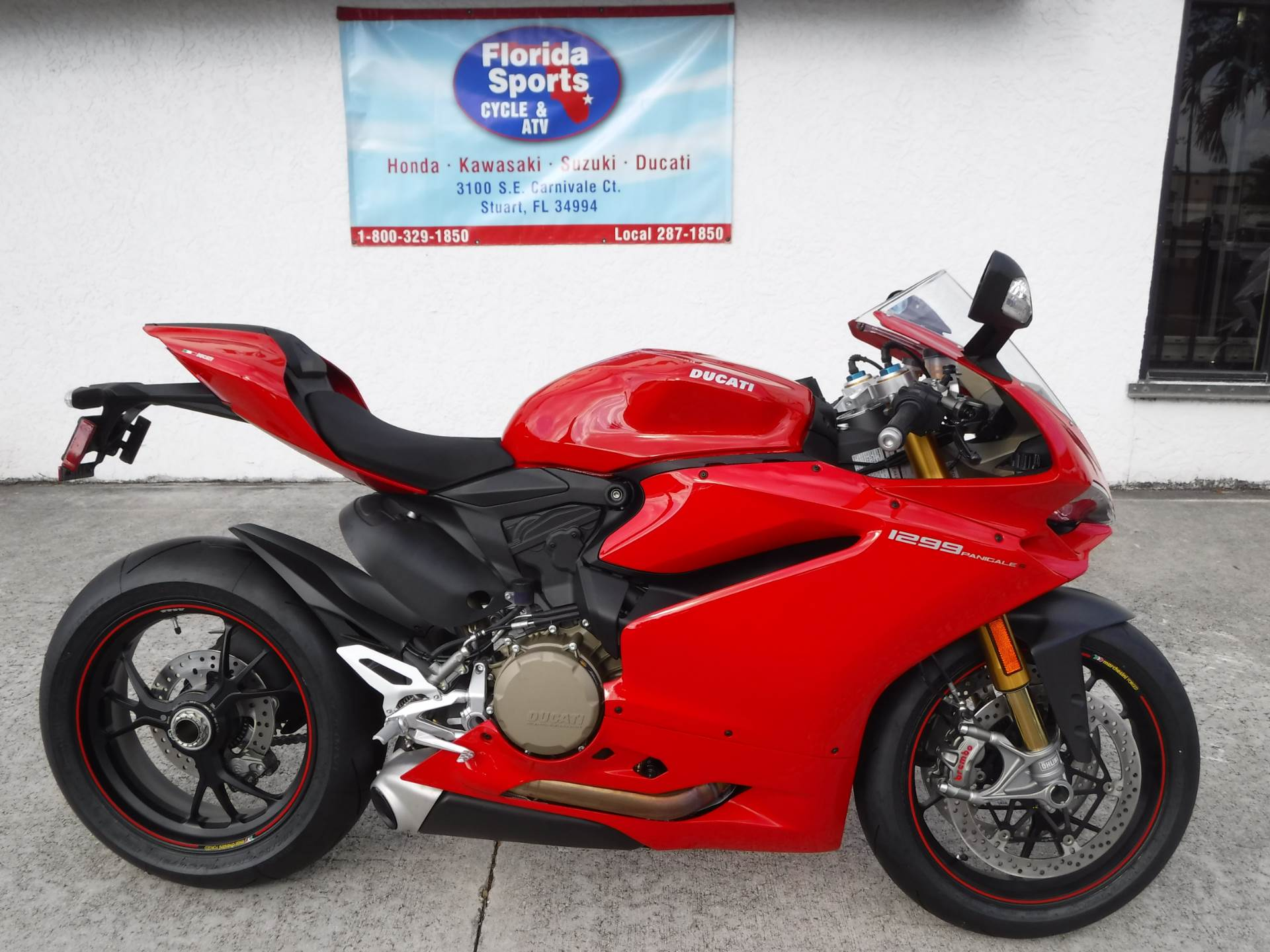 2017 Ducati 1299 Panigale S in Stuart, Florida