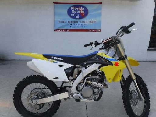 2018 Suzuki RM-Z250 in Stuart, Florida - Photo 1