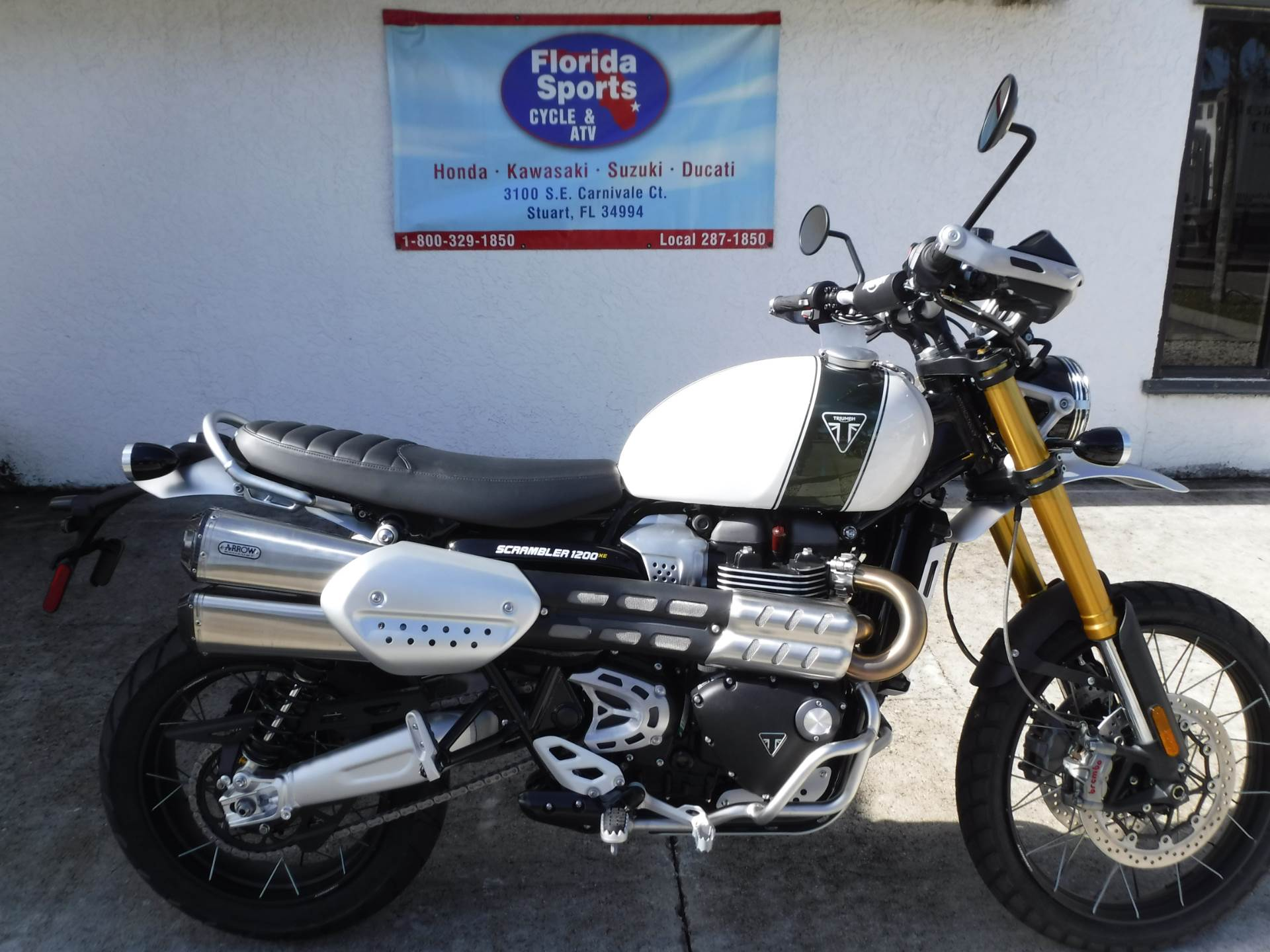 2019 Triumph Scrambler 1200 XE - Showcase in Stuart, Florida - Photo 1