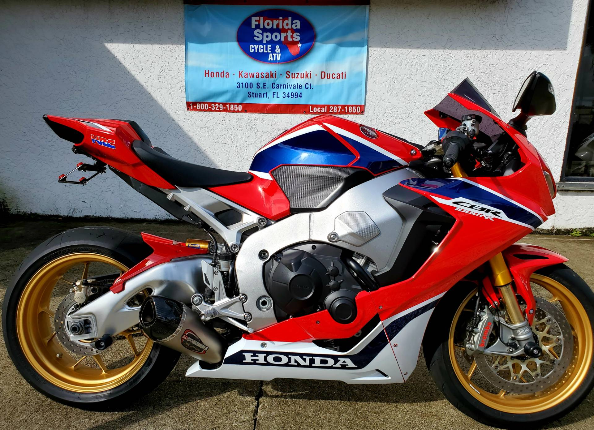 2017 Honda CBR1000RR SP in Stuart, Florida - Photo 1