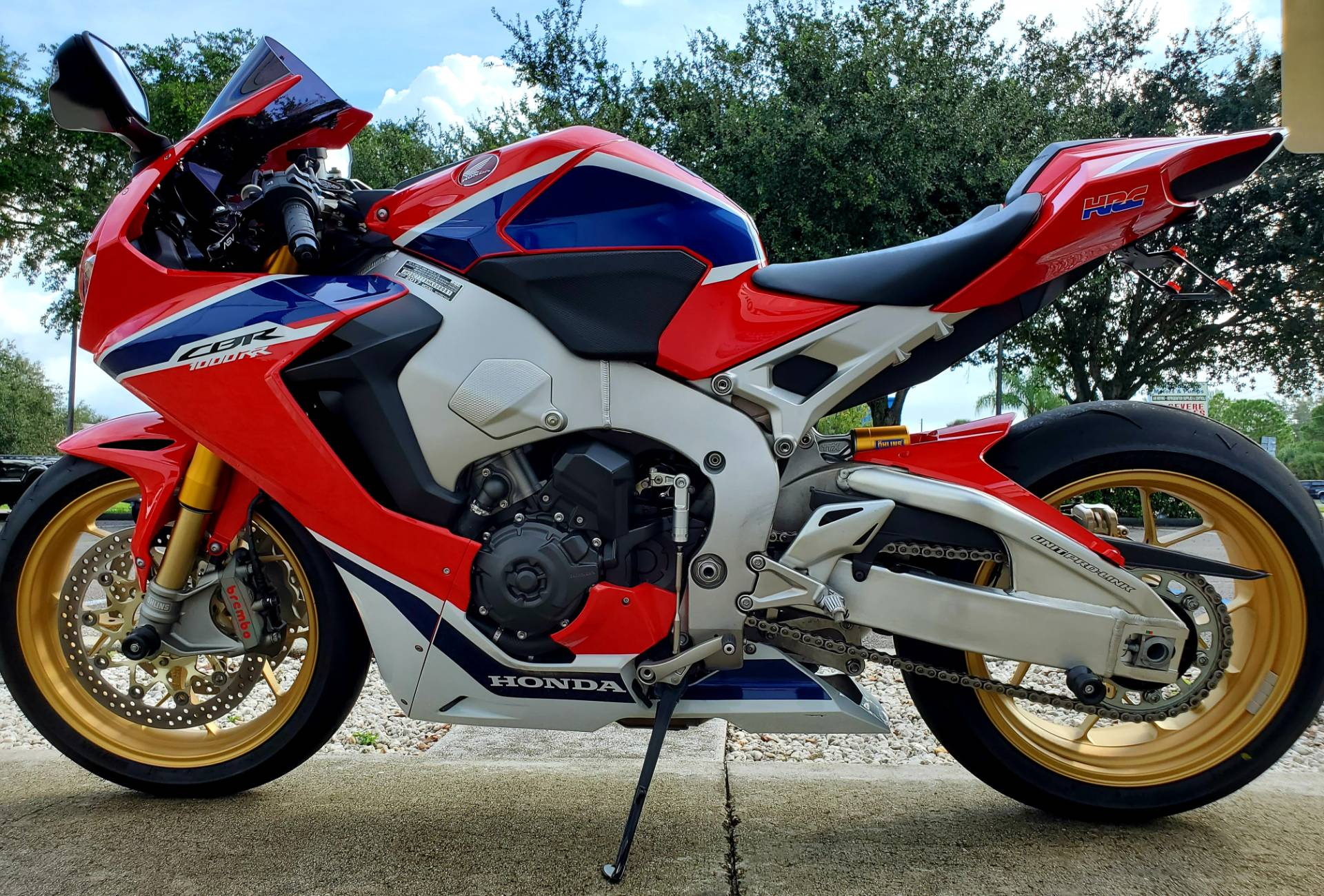 2017 Honda CBR1000RR SP in Stuart, Florida - Photo 5