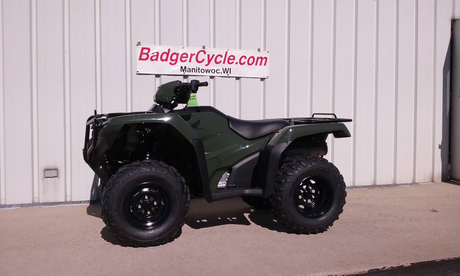2017 Honda FourTrax Foreman Rubicon 4x4 DCT in Manitowoc, Wisconsin
