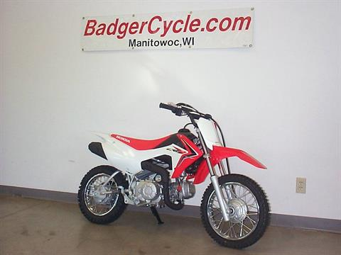 2018 Honda CRF110F in Manitowoc, Wisconsin - Photo 1