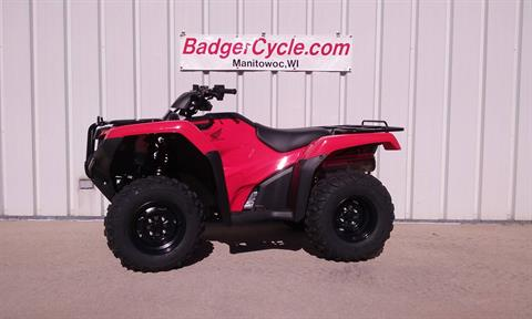 2020 Honda FourTrax Rancher 4x4 in Manitowoc, Wisconsin