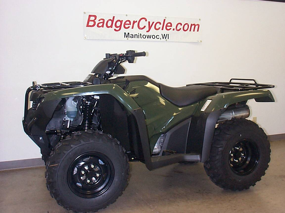 2019 Honda FourTrax Rancher 4x4 ATVs Badger Cycle Inc , in