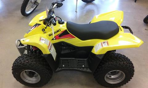 2020 Suzuki QuadSport Z50 in Manitowoc, Wisconsin