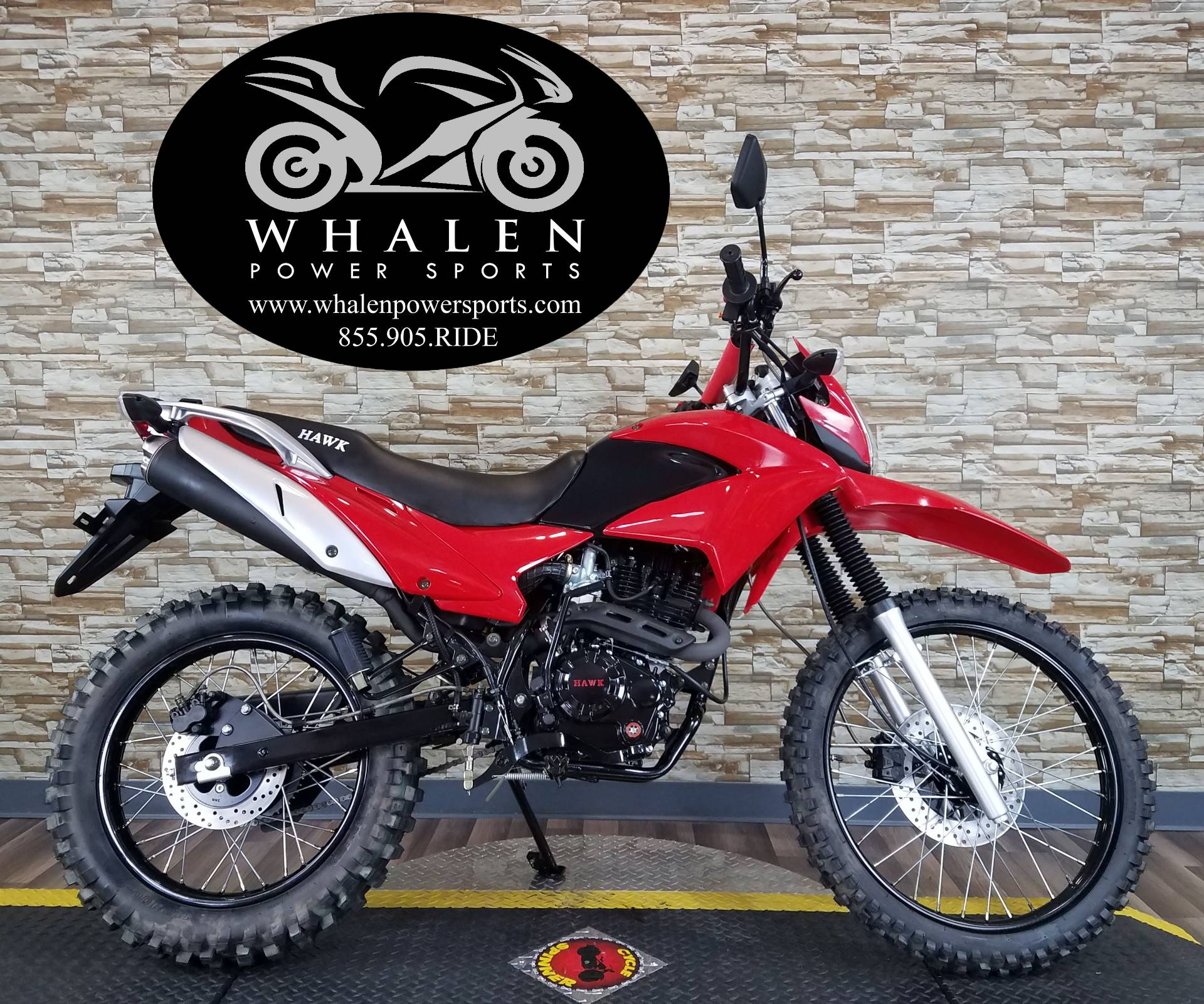 2017  Hawk 250 Red 1