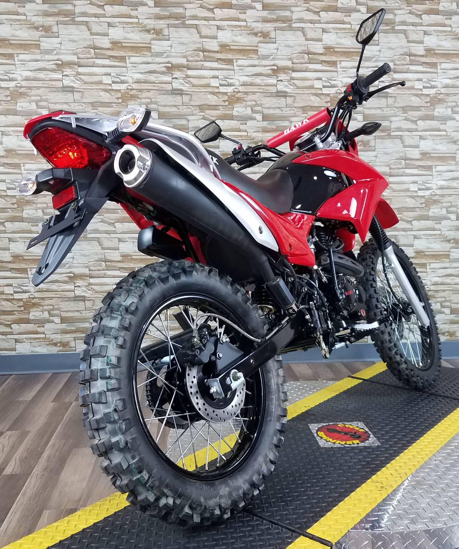 2017  Hawk 250 Red 2